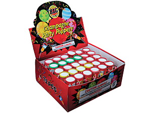 1208 - PARTY POPPERS - COUNTER DISPLAY