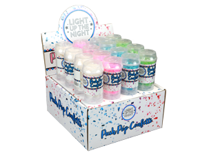 18002 - PUSH POP CONFETTI IN DISPLAY