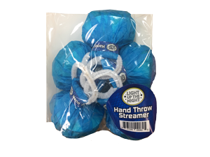 18007 - HAND THROW STREAMER - BLUE