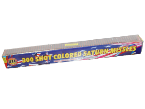2543 - 300 SHOT COLORED SATURN MISSILES