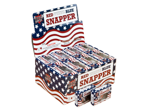 3983 - RED WHITE & BLUE PREMIUM SNAPPER