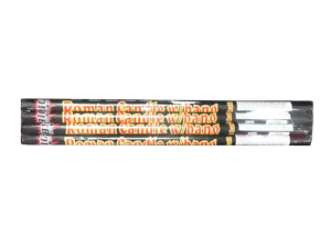 461 - 10 BALL ROMAN CANDLE W/BANG