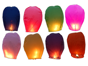 7221 - ECO COLOR SKY LANTERN