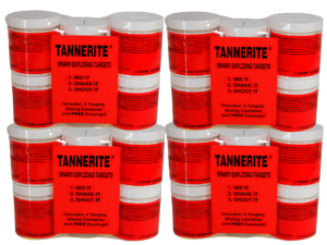 7224 - TANNERITE 4 X 4 PACK CASE