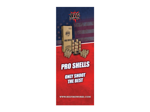 8352 - BANNER W/ STAND - Pro Shells