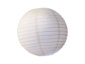 7419 - LED LARGE WHITE PARTY LANTERNS